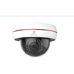 EZVIZ 2MP OUTDOOR POE DOME 30M-4MM (CS-CV220-A0-52EFR-4MM)