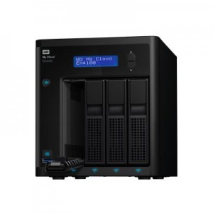 WD MY CLOUD EX4100 8TB EXPERT NAS (WDBWZE0080KBK-EESN)