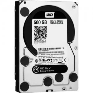 WD BLACK 500GB 3.5 SATA3 64MB CACHE (WD5003AZEX)
