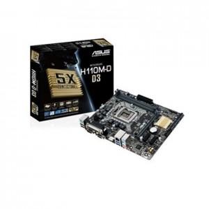 ASUS H110M-D DDR3 1151 MATX MOTHERBOARD H110M-D-D3