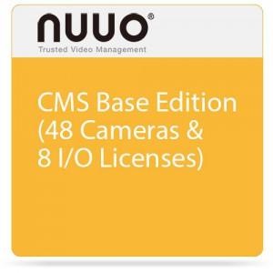 NUUO CMS 1X BASE 48X CAM 8X I/O NCS-BASE
