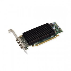 MATROX M9148,1GB,LP PCIE X16,4X DISPLAY PORT M9148-E1024LAF