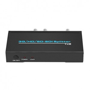 HDCVT 1x2 SDI Splitter HDV-S12