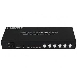 HDCVT HDMI 1.3 4X1 SEAMLESS SWITCHER  HDS-841SL