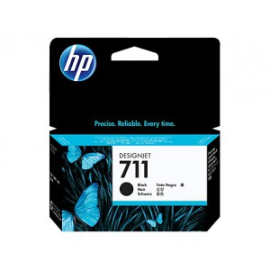 HP 711 BLACK INK CART DJET T120 SERIES (38ML) CZ129A