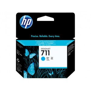 HP  711 CYAN INK CART  DJET FOR T120 SERIES (29ML) CZ130A