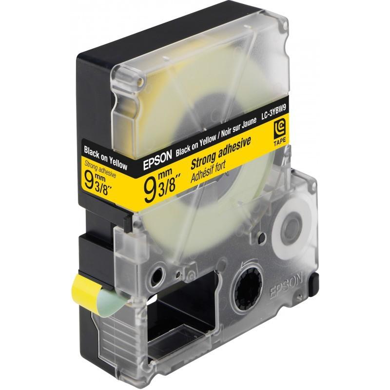Epson Tape Black/Yellow LK-3YBP 9mm x 9m LW-300/400/600/700