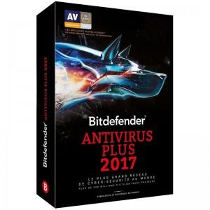 Bitdefender Antivirus Plus 2017 4 User 1 Year (ESD)