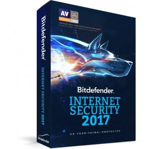 Bitdefender Internet Security 2017 4 User 1 Year License (ESD)