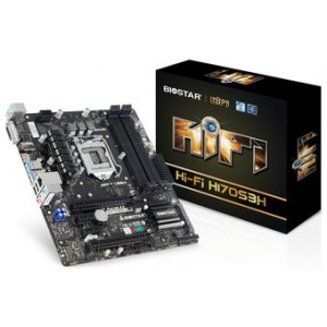 BIOSTAR H170 SCKT 1151 DDR3 HI-FI H170S3H