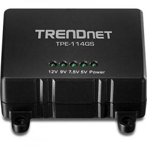 TRENDNET GIGABIT POWER OVER ETHERNET SPLITTER TPE-114GS