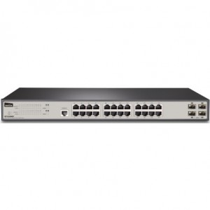 Netis 24GE+4 SFP-Port Gigabit Ethernet SNMP Switch ST3328GF