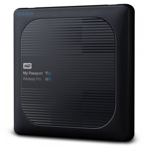 WD MY PASSPORT WIRELESS PRO/2TB/BLACK/EXT WDBP2P0020BBK-RESN