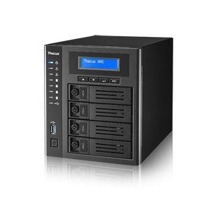 THECUS 4-BAY N4810 SMB TOWER NAS INTEL CELERON 1.6GHz QUAD CORE 4GB RAM HDMI/DP Output/SPDIF x 1