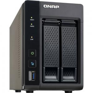 QNAP TS-253A-4G 2-BAY NAS, QUAD-CORE 1.6GHZ CPU, 4G