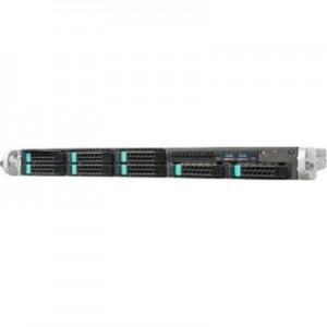 Intel 1U Silver Pass Rack Mountable Server System. 1 + 1 450W CRPS 4x 3.5'' HS HDD REFRESH