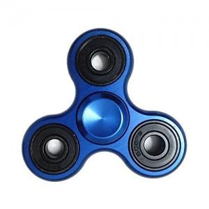 Fidget Hand Spinner - Aluminium (Blue)
