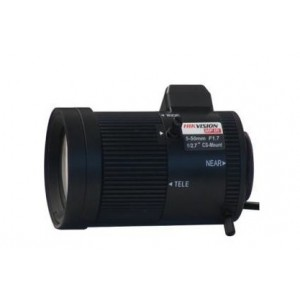 "HIK LENS DC-IRIS 5~50MM F1.6 CS MOUNT 1/2.7"" TV0550D-MPIR"