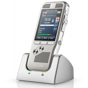 Philips DPM 8500 Professional Dictation Recorder - with Integrated Barcode Scanner
