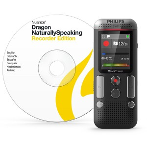 Philips DVT 2510 Notes Voice Recorder with Dragon DVR edition