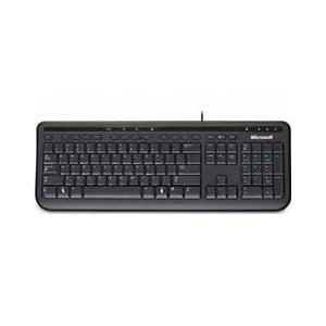 Microsoft Wired Keyboard 600 USB Black FPP