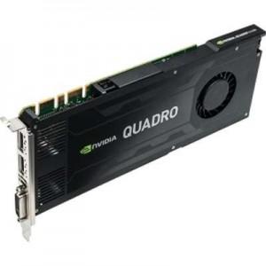 PNY QUADRO K4200 PCI-E X16 4GB GDDR5 2XDP, 1X DVI