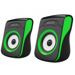 SU100 SPEAKER 2.0CH USB POWER 3.5MM GREEN