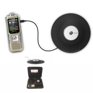 Philips DVT8010 Voice Tracer Meeting Recorder - Bundled with and additional Microphone
