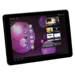 Proline H10882M 10.1'' 3G/WiFi 16GB Dual SIM Tablet - Black