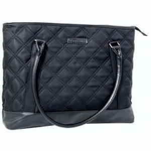 Kingsons - Vogue Series - 15.6 Ladies Laptop Shoulder Bag - Black