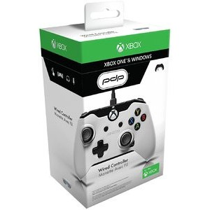 PDP Wired Controller for Xbox One (White - AU) XB1