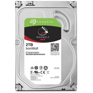 SEAGATE IRONWOLF 2TB 3.5''-5900RPM SATA 6GB/s 64MB CACHE