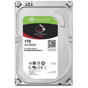 SEAGATE IRONWOLF 1TB 3.5''-5900RPM SATA 6GB/s 64MB CACHE