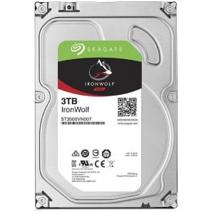 SEAGATE IRONWOLF 3TB 3.5''-5900RPM SATA 6GB/s 64MB CACHE