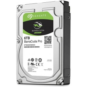 SEAGATE BARRACUDA  PRO 6TB 3.5 7200RPM 6GB/s 128MB CACHE