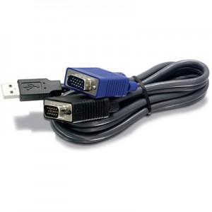 TRENDNET 4.5M USB KVM CABLE FOR TK-803/4R/1603/4R