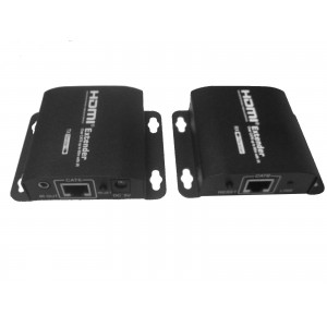 50m HDMI EXTENDER (SLIM) WITH HDMI OUT and Built in IR Blaster