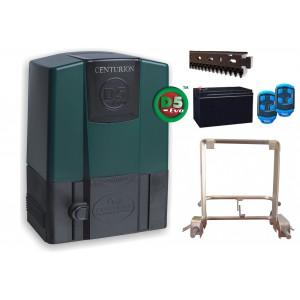 Centurion D5 Evo Sliding Gate Motor Kit incl Rack & Theft Resistant Cage