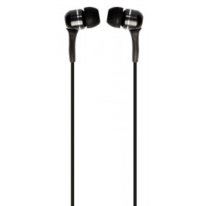 VERBATIM - SOUND ISOLATING EARPHONES - BLACK