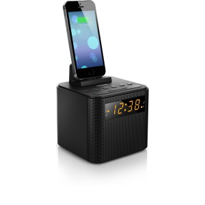 PHILIPS AJ3200 CLOCK RADIO - BLACK