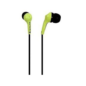 ZAGG  EP-BLT-GRN ifrogz Ear Pollution - Bolt EP-BLT-GRN Earbuds (Green)