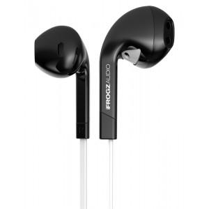 iFrogz IF-ITN-BLK Audio InTone Headphones with Mic, Black