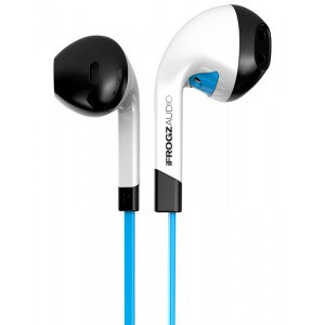 iFrogz IF-ITN-BLU InTone Headphones with Mic (Blue)