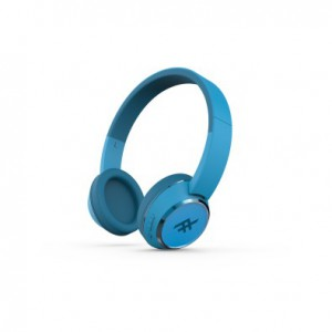 iFrogz IFOPOH-BL0 Audio Coda Wireless Headphone with Microphone Blue