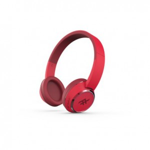 iFrogz IFOPOH-RD0 Coda Bluetooth Headphone With Mic - Red