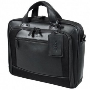 DUBAI 15.6 Inch Twill and leather laptop bag