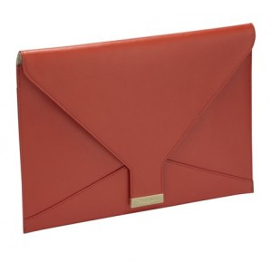 "Targus TES607EU Leather 13.3"" Clutch Bag for Ultrabook & Macbook - Notebook Carrying Case"