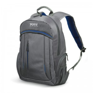 PORT MEGEVE BACK PACK 15.6 BLUE