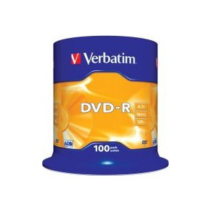 Verbatim - DVD-R + SLEEVE BUNDLE