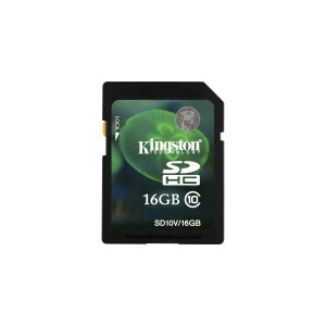 16GB SDHC CLASS 10 FLASH CARD